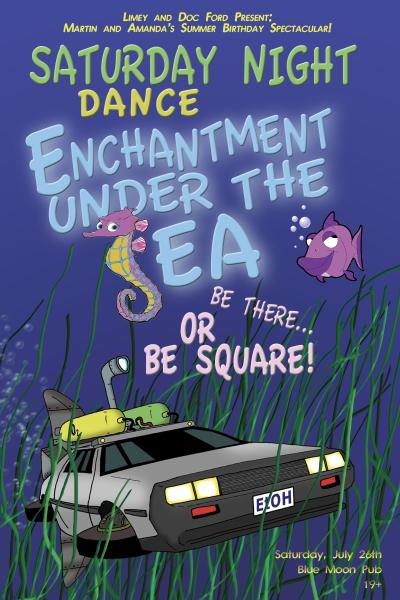 enchantment under the sea dance song